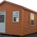 Vinyl Log Siding Cabin